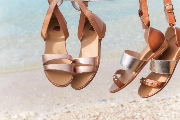 Bared Footwear metallic sandals