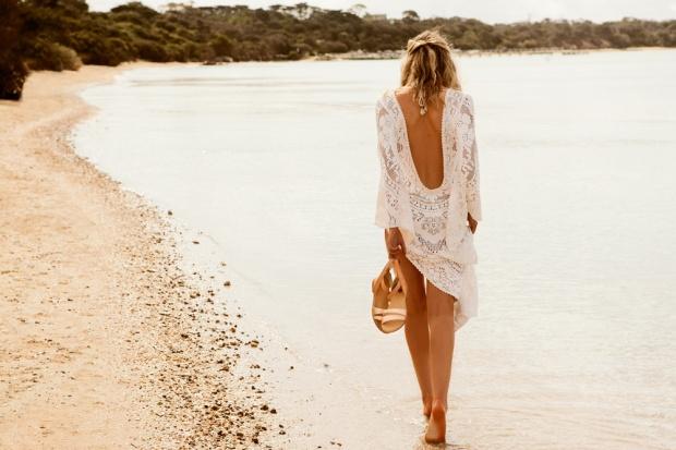 Bared-Footwear-beach